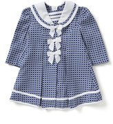 Bonnie Baby Bonnie Jean Little Girls Checked Jacquard Coat & Dress Set