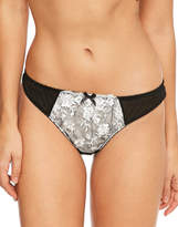 Figleaves Sienna Embroidered Thong