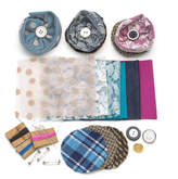 Holly Young Millinery Diy Silk And Lace Brooch Making Kit