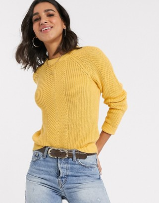 B.young b. Young round neck fitted sweater