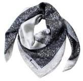 Astrid Sarkissian Family pocket square silk scarf