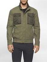 Calvin Klein Cotton Blend Field Jacket