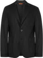 Barena Black Slanegà Unstructured Wool-Blend Blazer