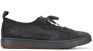 Santoni lace-up low sneakers