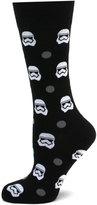 Cufflinks Inc. Star Wars Stormtrooper Dot Socks