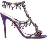 Marchesa 'Grace' sandals - women - Suede - 37