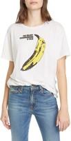R 13 Velvet Underground Banana Graphic Tee