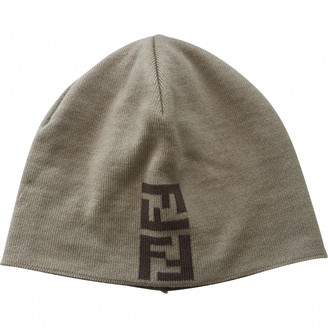 Fendi Beige Wool Hats