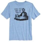 JEM Boy's Text Me Graphic T-Shirt