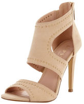 Lipsy Liberty Cut Out Sandals In Camel Size UK 7