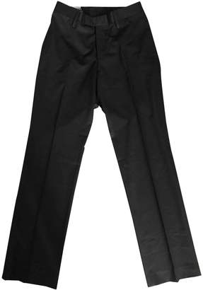 Gucci \N Brown Linen Trousers