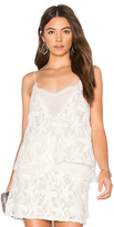 Krisa Double V Cami in White. - size S (also in XS)