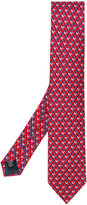 Ermenegildo Zegna grid tie - men - Silk - One Size