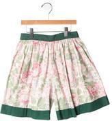Bonpoint Girls' Floral Skirt