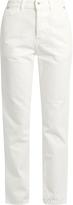 Muveil High-rise slim-leg jeans