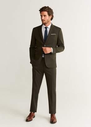 MANGO Slim fit suit pants