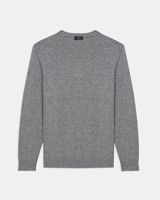 Theory Crewneck Sweater in Donegal Cashmere