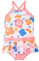Seafolly Girls' Vintage Pop Skirted Tank One Piece Swimsuit (2yrs6yrs) - 8133198