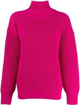 MSGM Chunky Knit Turtleneck Jumper