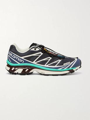 Salomon Xt-6 Adv Mesh And Rubber Running Sneakers