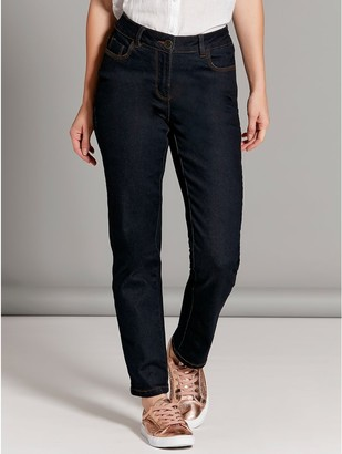 M&Co Petite straight leg jeans