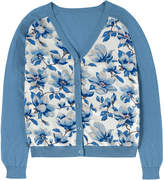 Cath Kidston Magnolia Woven and Knit Cardigan