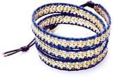Nakamol Woven Gold Wrap-Bracelet