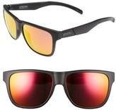 Smith Optics Men's 'Lowdown' 56Mm Sunglasses - Black/red Sol-X Lens