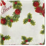 ARLEE Arlee Holiday Wreath 4-pc. Napkins