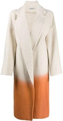 Dusan Colour-Block Oversized Coat