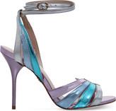 Kg Kurt Geiger Jool metallic high-heeled sandals