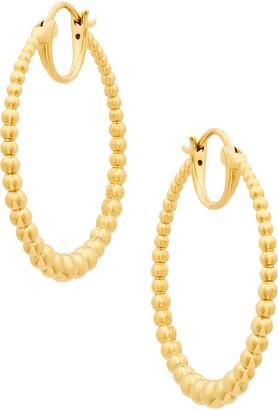 AJOA Lala Beaded Hoop Earrings