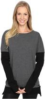 Blanc Noir Crossback Sweatshirt