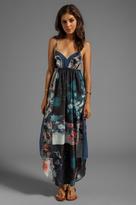 Gypsy 05 Galactica V-Bottom Maxi Dress