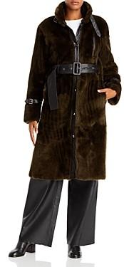 Remain Campioni Belted Lamb Shearling Coat