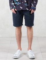 Paul Smith Red Ear Front Pleated Shorts