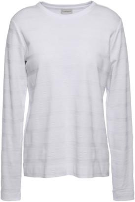 By Malene Birger Textured Cotton-jersey Top