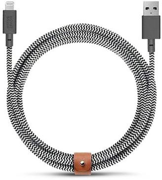 Native Union BELT extra long lightning charging cable Zebra