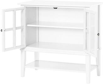Franklin 2 Door Storage Cabinet- White