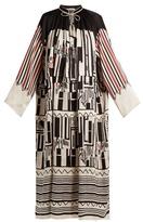 Etro Graphic-print silk dress