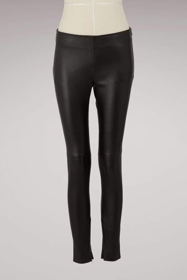 Givenchy Leather leggings