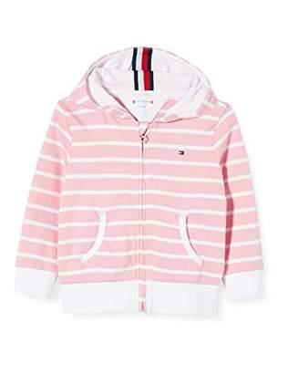 Tommy Hilfiger Baby Stripe Zip Hoodie,One (Size:86)