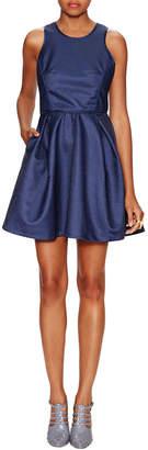 Maje Milano Ribbed Ball Dress