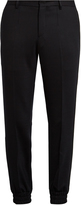 Wooyoungmi Stretch-wool track pants