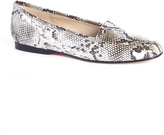 Enzo Angiolini White Liberty Loafer
