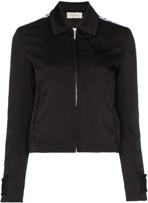Wales Bonner Checked Sleeve Sports Jacket