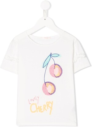 Billieblush Lovely Cherry print T-shirt