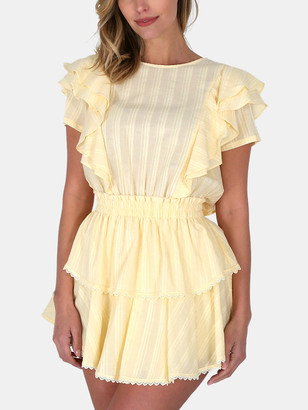 Shabby Chic Georgia Ruffle Mini Dress