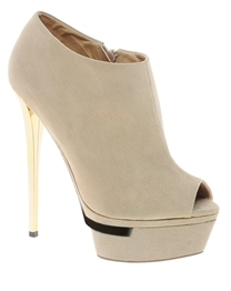 Asos TAPED Shoe Boots - Nude