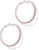 New York & Co. Glittering Hoop Earring